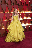 www.acepixs.com<br /> <br /> February 26 2017, Hollywood CA<br /> <br /> Leslie Mann arriving at the 89th Annual Academy Awards at Hollywood &amp; Highland Center on February 26, 2017 in Hollywood, California.<br /> <br /> By Line: Z17/ACE Pictures<br /> <br /> <br /> ACE Pictures Inc<br /> Tel: 6467670430<br /> Email: info@acepixs.com<br /> www.acepixs.com