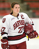 Alisa Baumgartner (Harvard - 27) - The visiting Dartmouth College Big Green defeated the Harvard University Crimson 3-2 on Wednesday, November 23, 2011, at Bright Hockey Center in Cambridge, Massachusetts.