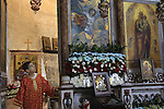 Israel, Lod, the Feast of St. George celebration at the Greek Orthodox Church of St. George