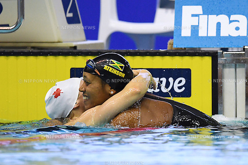 Alia Atkinson (JAM), <br /> OCTOBER 26, 2016 - Swimming : FINA Swimming World Cup Tokyo <br /> Women's 50m Breaststroke Final <br /> at Tatsumi International Swimming Pool, Tokyo, Japan. <br /> (Photo by AFLO SPORT)