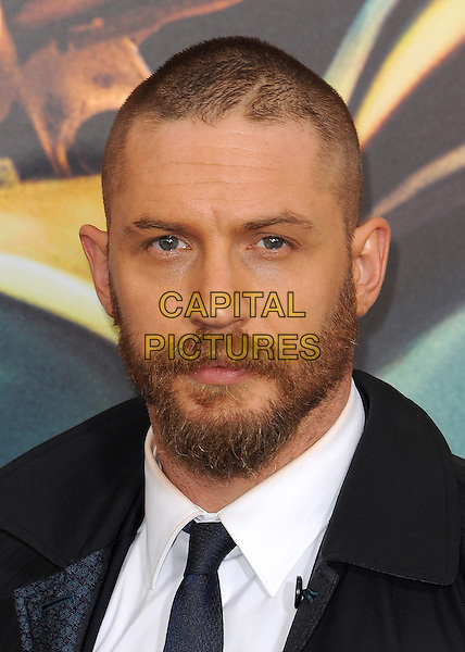 HOLLYWOOD, CA - MAY 7:  Tom Hardy at the Los Angeles premiere of &quot;Mad Max: Fury Road&quot; at the TCL Chinese Theatre on May 7, 2015 in Hollywood, California. <br /> CAP/MPI/PGSK<br /> &copy;PGSK/MediaPunch/Capital Pictures
