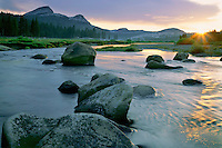 Tuolumne River and Fairview Dome<br />