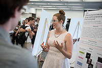 "Lani Cupo '17 presents ""Emotional Perception of Culture and Art""<br /> Occidental College's Undergraduate Research Center hosts their annual Summer Research Conference on Aug. 4, 2016. Student researchers presented their work as either oral or poster presentations at the final conference. The program lasts 10 weeks and involves independent research in all departments.<br /> (Photo by Marc Campos, Occidental College Photographer)"