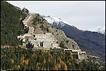 Il Forte di Fenestrelle. The Fortress of Fenestrelle.