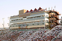 16 September 2006: The skybox during Stanford's 37-9 loss to Navy during the grand opening of the new Stanford Stadium in Stanford, CA.