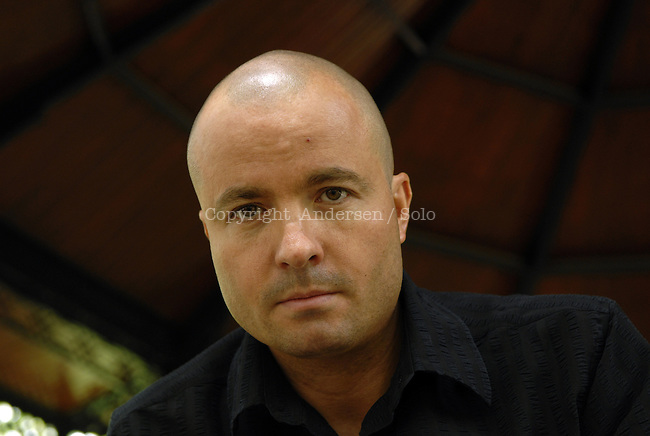 Laurent Graff, French writer in 2007.