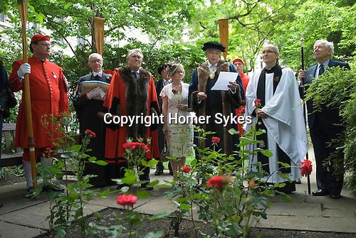 Knollys Rose Ceremony City of London UK.