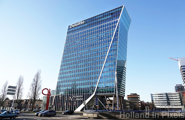 Nederland - Den Haag - 2019. De Haagsche Zwaan. Deloitte kantoor in het Beatrixkwartier. Berlinda van Dam / Hollandse Hoogte
