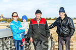 At the Ballyheigue Ploughing Match on Sunday were Sinead McDonald, Niamh McDonald, Ballyheigue, Thomas Wharton, Killarney and James Doherty, Killarney