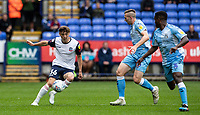 Bolton Wanderers' Callum King-Harmes (left) breaks<br /> <br /> Photographer Andrew Kearns/CameraSport<br /> <br /> The EFL Sky Bet Championship - Bolton Wanderers v Coventry City - Saturday 10th August 2019 - University of Bolton Stadium - Bolton<br /> <br /> World Copyright © 2019 CameraSport. All rights reserved. 43 Linden Ave. Countesthorpe. Leicester. England. LE8 5PG - Tel: +44 (0) 116 277 4147 - admin@camerasport.com - www.camerasport.com