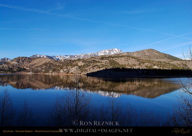 June Lake, Eastern Sierras, Mono County, California
