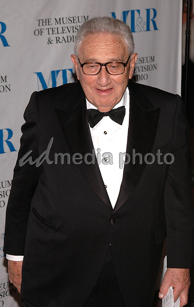 26 May 2005 - New York, New York - Dr. Henry Kissinger arrives at The Museum of Television and Radio's Annual Gala where Merv Griffin is being honored for his award winning career in radio and television.<br />