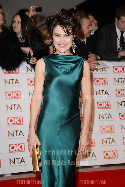 Gillian Keaney arrives for the National TV Awards 2015 at the O2 Arena, Greenwich London. 21/01/2015 Picture by: Steve Vas / Featureflash