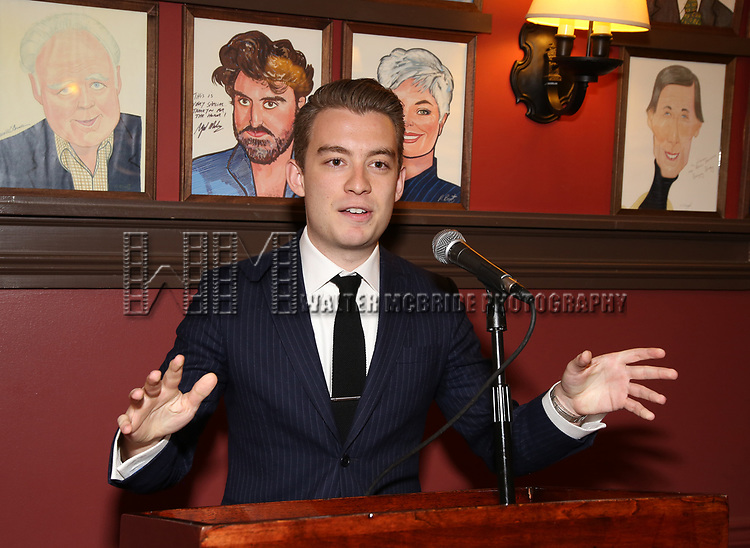 Tony Marion attends the William Ivey Long Sardi's portrait unveiling and 70th Birthday Party at Sardi's Restaurant on August 30, 2017 in New York City.