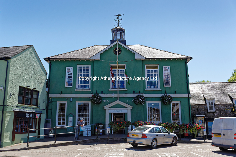 Fishguard Town Hall, Pembrokeshire, Wales, UK