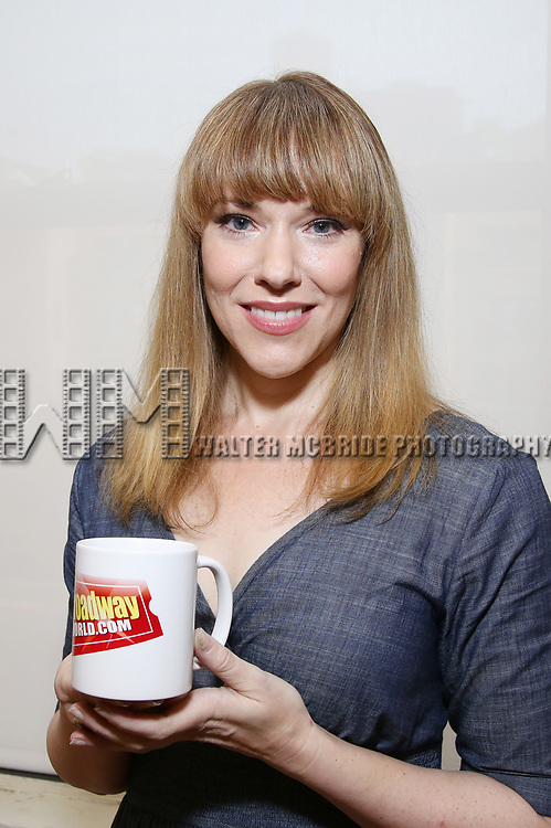 Emily Skinner attends the Meet & Greet for the Manhattan Theatre Club's Broadway Premiere of 'Prince of Broadway' at the MTC Studios on July 20, 2017 in New York City.