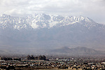 4 APRIL 2012, Kabul, Afghanistan: A view of the bombed out Darul Aman Palace ( Abode of Peace) former home to the ousted Afghan Royal family at the foot of the Hindu Kush mountains sixteen kilometers from Kabul. Picture by Graham Crouch/The Australian