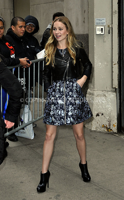 WWW.ACEPIXS.COM<br /> <br /> April 9 2015, New York City<br /> <br /> Actress  Britt Robertson made an appeareance at HuffPost Live on April 9 2015 in New York City<br /> <br /> By Line: Curtis Means/ACE Pictures<br /> <br /> <br /> ACE Pictures, Inc.<br /> tel: 646 769 0430<br /> Email: info@acepixs.com<br /> www.acepixs.com