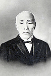 Undated - Shigenobu Okuma (1838-1922) was a Japanese statesman and the 8th and 17th Prime Minister of Japan. He was also an early advocate of Western science and culture in Japan, and founder of Waseda University. (Photo by Kingendai Photo Library/AFLO)