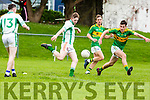 Kieran O'Donnell St Kierans gets in his shot against South Kerry in killlorglin