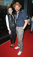 Victoria Pendleton and Alistair Guy at the Diamond Roc and The National Gallery fashion collaboration launch party, CAMA Gallery, Dacre Street, London, England, UK, on Monday 02 July 2018.<br /> CAP/CAN<br /> &copy;CAN/Capital Pictures