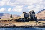 Cliff-top Duart Castle