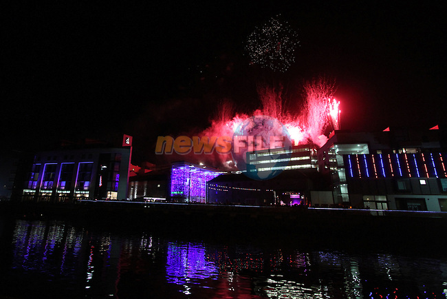 at the Funtasia Firework Display at Scotch Hall...Photo NEWSFILE/Jenny Matthews..(Photo credit should read Jenny Matthews/NEWSFILE)