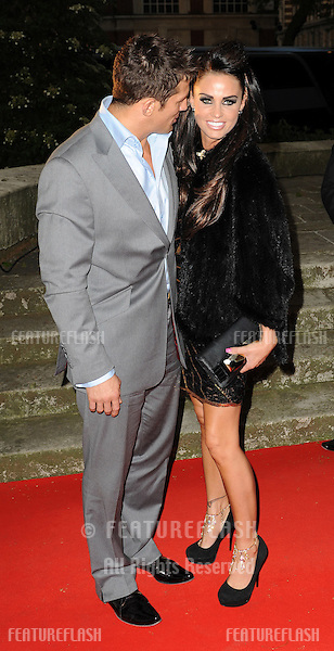 """Katie Price & Alex Reid arrive for the """"Keep a Child Alive"""" Black Ball in Westminster. 27th May 2010. Pictures by Simon Burchell/Featureflash."""