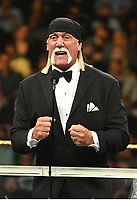 NEW YORK, NY - APRIL 6: Hulk Hogan at the 2019 WWE Hall Of Fame Ceremony at the Barclay's Center in Brooklyn, New York City on April 6, 2019.      <br /> CAP/MPI/GN<br /> ©GN/MPI/Capital Pictures