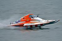 Dale Hernandez, S-93  (2.5 Litre Stock hydroplane(s)