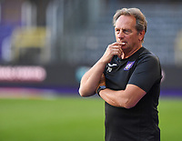 20190807 - ANDERLECHT, BELGIUM : Anderlecht's head coach Patrick Wachel pictured during the female soccer game between the Belgian RSCA Ladies – Royal Sporting Club Anderlecht Dames  and the Greek FC PAOK Thessaloniki ladies , the first game for both teams in the Uefa Womens Champions League Qualifying round in group 8 , Wednesday 7 th August 2019 at the Lotto Park Stadium in Anderlecht  , Belgium  .  PHOTO SPORTPIX.BE | DAVID CATRY