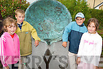 HOLIDAY TIME: Children from Chernobyl arrived in Tralee on Monday evening for a.month long holiday with their Kerry host families. Vlad Rudovich, Valya.Kanupatskaya, Anastasia Yakubovich and Deema Kamenev.