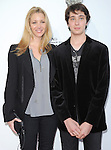 Lisa Kudrow and son at The .Book of Mormon Opening Night held at The Pantages Theatre in Hollywood, California on September 12,2012                                                                               © 2012 Hollywood Press Agency