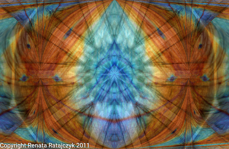 Gemstone Meditation Mandala and Spiritual Shield - #1 - digital art