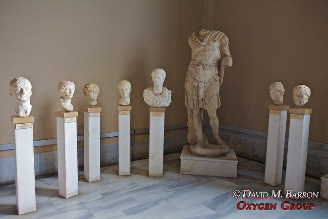 A Number Of Heads Of (Mainly) Roman Emperors, Istanbul Archaeology Museum