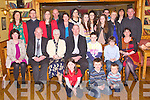 CONFORMATION: Jack O'Connor, Ballmac (seated 5th left) who was Confirmed at St Brendan's Chuch, Clogher and celebrated afterwards with family and friends at Stokesr Lodge restaurant and bar, Tralee on Friday.