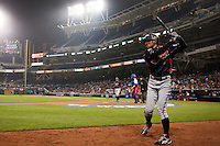 18 March 2009: #51 Ichiro Suzuki of Japan waits in the batter box during the 2009 World Baseball Classic Pool 1 game 5 at Petco Park in San Diego, California, USA. Japan wins 5-0 over Cuba.
