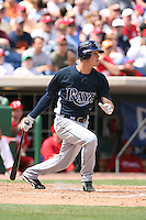 March 18th 2008:  Reid Brignac of the Tampa Bay Devil Rays during a Spring Training game at Bright House Networks Field in Clearwater, FL.  Photo by:  Mike Janes/Four Seam Images