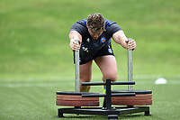 Nick Auterac of Bath Rugby in action. Bath Rugby pre-season S&C session on June 22, 2017 at Farleigh House in Bath, England. Photo by: Patrick Khachfe / Onside Images