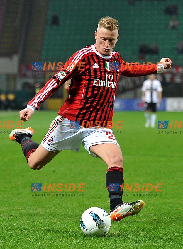 "Ignazio ABABTE (Milan).Milano 26/10/2011 Stadio ""Giuseppe Meazza"".Serie A 2011/2012.Football Calcio Milan Vs Parma.Foto Insidefoto Alessandro Sabattini."