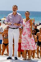 King Felipe and Queen Letizia visit Benidorm