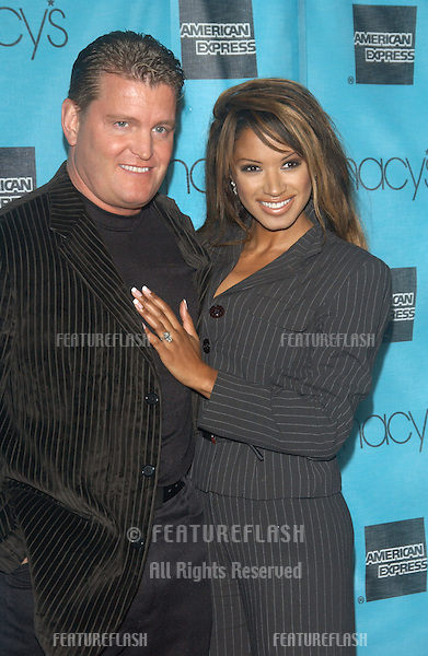 Actress TRACI BINGHAM at the Macy's & American Express Passport 2003 Gala at Santa Monica Airport, CA..Oct 2, 2003