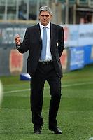 Nick Mallett, allenatore dell'Italia.<br /> Italia vs Francia  22-21<br /> RBS 6 Nations Rugby Championship 2011<br /> Stadio Flaminio;<br /> Roma, 12/03/2011<br /> Photo Antonietta Baldassarre Insidefoto