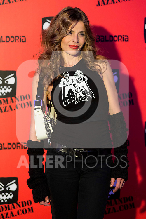 Inma del Moral attends the presentation of the brand &quot;Comando Jaza&quot; in Madrid, December 14, 2015<br /> (ALTERPHOTOS/BorjaB.Hojas)