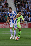 CD Leganes's Jon Ander Serantes and during La Liga match between CD Leganes and FC Barcelona at Butarque Stadium in Madrid, Spain. September 26, 2018. (ALTERPHOTOS/A. Perez Meca)