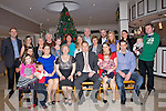 BIG BIRTHDAY: Imelda Harrington Meadowlands Tralee who celebrated her 70th birthday in The Earl of Desmond Hotel, Tralee on Saturday night with her family. Front l-r: Caroline Harrington, Ronan O'Callaghan, Jessica Harrington, Imelda Harrington (birthday lady), John Harrington, Geraldine Harrington, Odhran Scully and Rodney Harrington. Back l-r; Conor Scully, Carol Donnelly, Mary Heffernan, Sean Donnelly, Elizabeth Hayes, Caroline Hayes, Rose O'Callaghan, Denis O'Callaghan, Denis O'Callaghan, Mary Donnelly, Clive O'Callaghan, Clauidia Pomedlo, Philip and Conal O'Mahony........