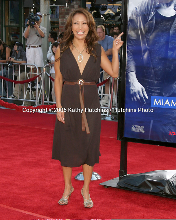 "Carrie-Ann Innaba.""Miami Vice"" Premiere.Mann's Village Theater.Westwood, CA.July 20, 2006.©2006 Kathy Hutchins / Hutchins Photo...."