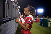 Boyds, MD - August 26, 2017: The Chicago Red Stars defeated the Washington Spirit during a National Women's Soccer League (NWSL) match at the Maryland SoccerPlex