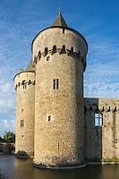 France, Morbihan (56), Golfe du Morbihan, Sarzeau, Château de Suscinio  // France, Morbihan, Gulf of Morbihan, Sarzeau, Château de Suscinio