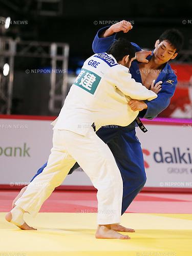 Takanori Nagase (JPN), DECEMBER 5, 2015 - Judo : IJF Grand Slam Tokyo 2015 International Judo Tournament Men's -81kg Bronze medal match at Tokyo Metropolitan Gymnasium, Tokyo, Japan. (Photo by Sho Tamura/AFLO SPORT)